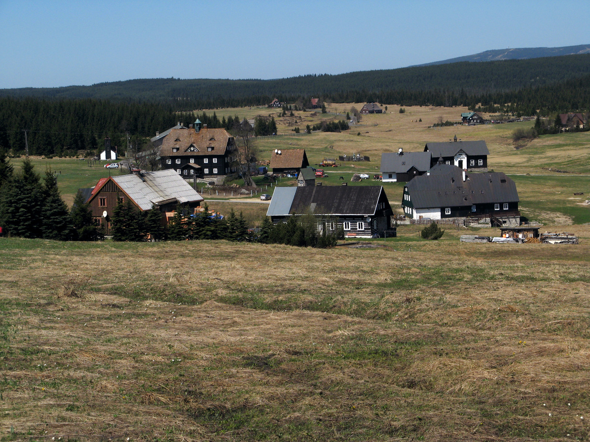 Malebná osada Jizerka
