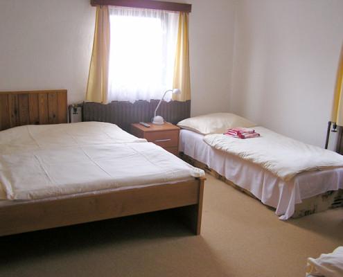 Třílůžkový pokoj v Chatě Na Sklace
